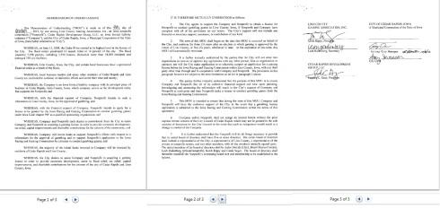 memorandum of understw